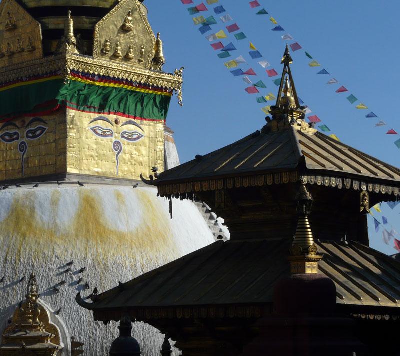 Swayambhunath Katmandou Népal