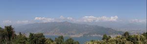 Les Annapurnas Pokhara Népal